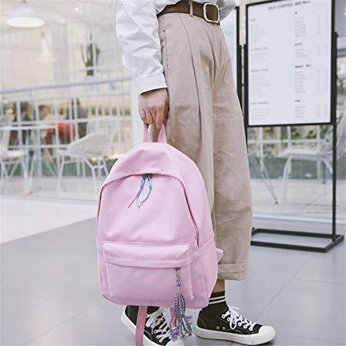 Lona Adolescentes Para Linda Las Capacidad Bolsos Recorrido C Chicas Los Gran De Mochila Vhvcx La Mujer Escuela Mochilas Hombro wZv1YOFxq