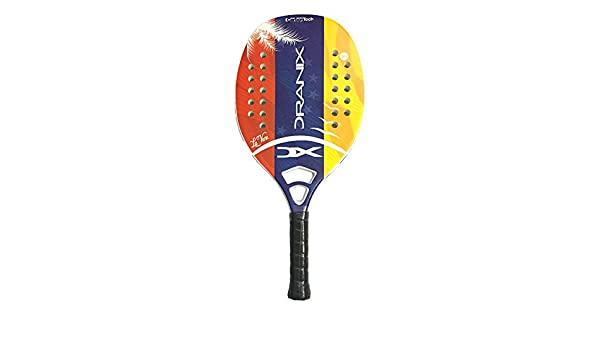 Amazon.com : Dranix La Vene Beach Tennis Paddle Racquet - Grip 4 1/4