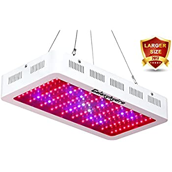 Roleadro 300w LED Grow Light Galaxyhydro Series Full Spectrum Grow Lamp for Plants Veg and Flower, Added Daisy Chain Function, and Larger Size Plant Light
