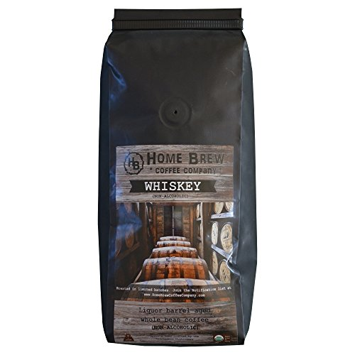 Whiskey Coffee - Specialty Coffee aged in Whiskey Barrels - Home Brew Coffee Company Gourmet Coffee - 1 Pound