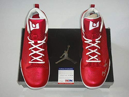 Dwyane Wade Certified Signed Air Jordan Player Model Autographed Shoes. - PSA/DNA Certified - Autographed NBA Sneakers ()