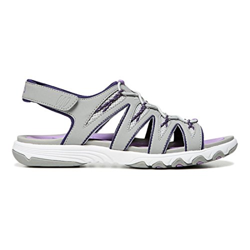 Cool Sandal Ryka Grey the Lavender English Women's Grey Athletic Mist Glance Ivan xUqt4wqf0