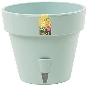 Santino macetero con autorriego Latina 11,8pulgadas Jade Flower Pot