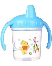 كوب شرب للاطفال بمقابض من ليدر بيبي، 150 مل - ازرق