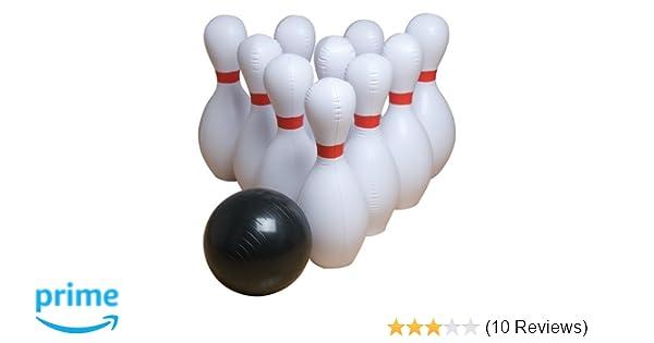 GameCraft® Multi-Color Foam Bowling Pin Set