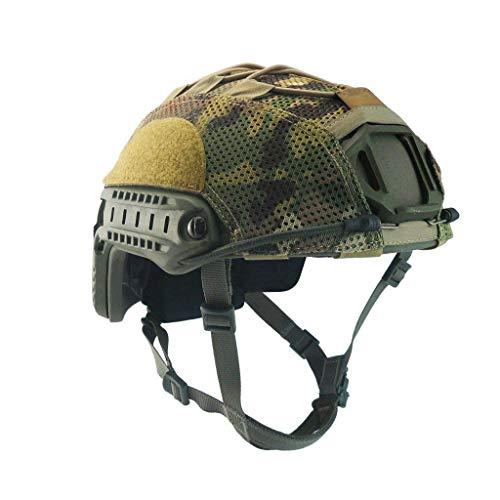 Armorwerx Multicam Mesh Helmet Cover for Ops-Core Fast Carbon Bump and XP Helmets (Multicam, Large)