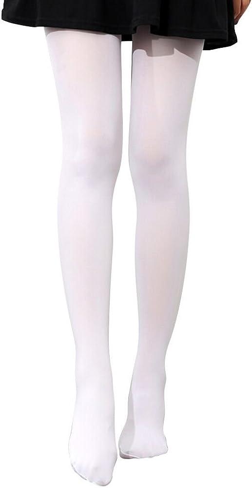 S.lemon 2 Pairs Dance Ballet Tights Pantyhose Socks Full Foot Tights for Girls
