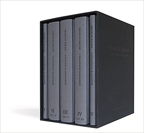 Francis Bacon: Catalogue Raisonné: 5 volumes presented in a slipcase