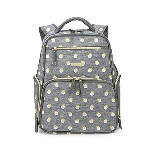 Bananafish Penelope Electric Breast Pump Tote Portable Carrying Bag, - Metallic Dots Pump