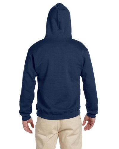 JERZEES; SUPER SWEATS; Pullover Hooded Sweatshirt. 4997M-simple - Jerzees 4997 Hoodie Sweatshirt