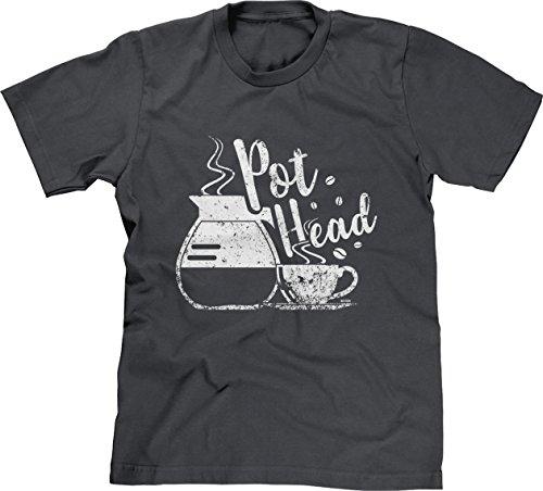 (Blittzen Mens Coffee Pot Head, L, Charcoal)