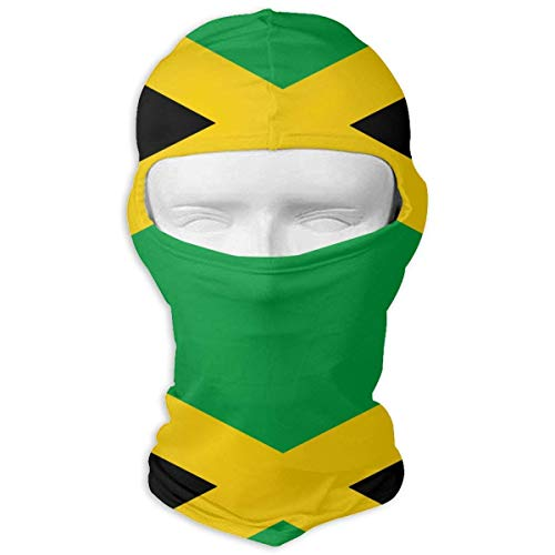 (DKFDS Flag of Jamaica Flag of Jamaica Balaclava UV Protection Windproof Ski Face Masks for Cycling Outdoor Sports Full Face Mask)