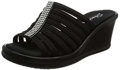 Skechers Womens - Rumblers Hot Shot Black Size: 5.5