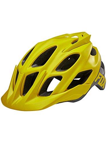 Fox Racing 2017/18 Flux Creo Helmet - 19118-547 (Dark Yellow - L/XL)