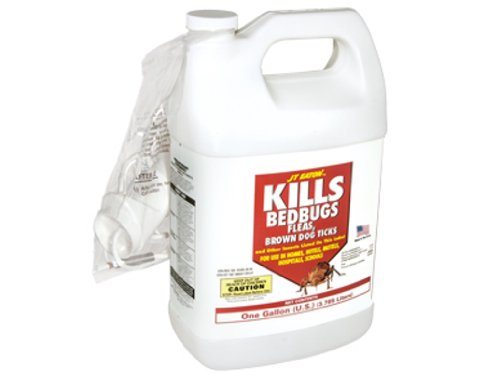 Insects Bed Bugs - JT Eaton 1GL OILBASE 204-O1G Kills Oil Based Bedbug Spray with Sprayer Att, 1-Gallon, Multicolor