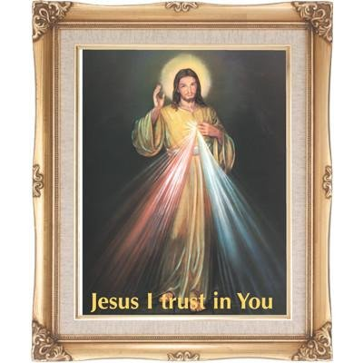 Divine Mercy Framed Art by Discount Catholic Store