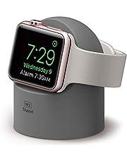 elago W2 Stand compatibel met Apple Watch Series 5 (2019) / Series 4 / Series 3 / Series 2 / Series 1 / 44mm / 42mm / 40mm / 38mm - Dark Gray