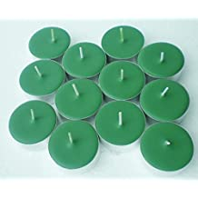 12 Pack of Scented Sweetgrass Scented Soy Tealight Candles