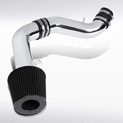 Autozensation For Hyundai Tiburon 2.7L V6 Chrome Cold Air Intake System+Black - Air V6 2.7l Intake