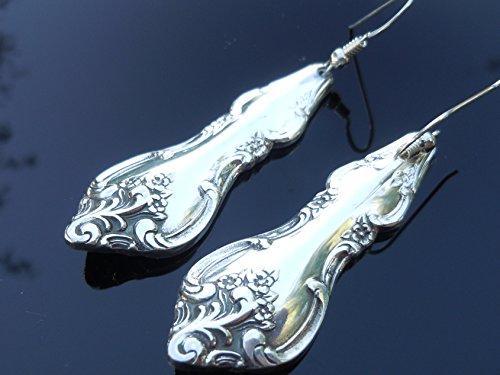 International Orleans 1964 Earrings Vintage Silverplate - International Orleans Silverplate