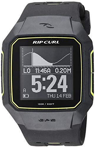 Rip Curl Analog-Quartz Watch with Plastic Strap, Yellow, 31 (Model: - Gps Series