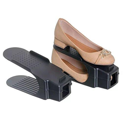 Organizador Rack Sapato 20 unidades Preto