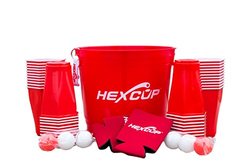 Hexcup Beer Pong Bucket Kit by HEXCUP
