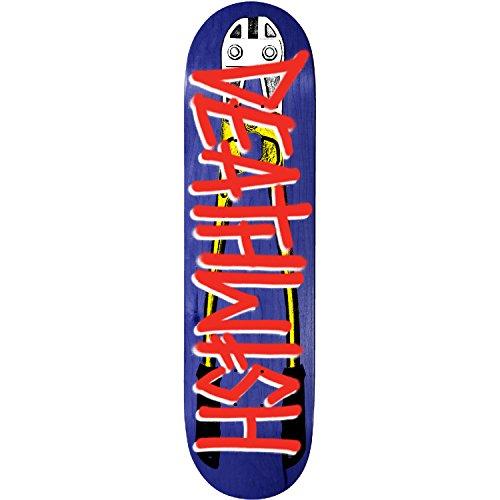 かもめ天気フレアDeathwish Skateboards Deathsprayボルトカッタースケートボードデッキ – 8.38