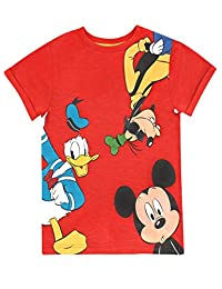 Disney Boys Mickey Mouse Donald Duck & Goofy T-Shirt