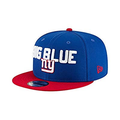 New Era New York Giants 2018 NFL Draft Spotlight Snapback 9Fifty Adjustable Hat from New Era