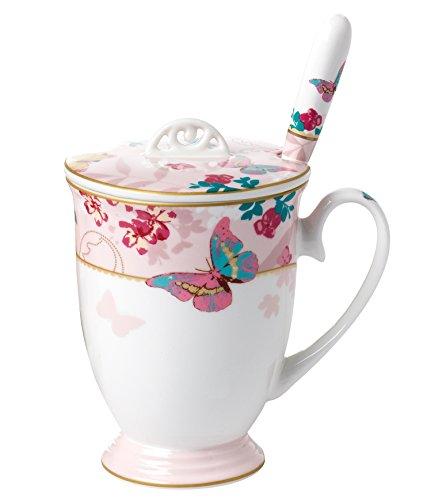 Jusalpha Royal Butterfly Coffee FLYH Mug