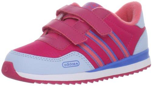 adidas SE JOG 09 CF INF Shoe (Infant/Toddler),Bright Pink/Lab Pink/Bright Blue,9 M US Toddler