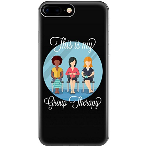 Funny Group Therapy Gift For Knitter Crocheter Needle Art - Phone Case Fits Iphone 6 6s 7 8