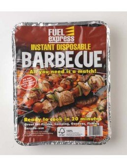 Fuel Express Instant Disposable Barbecue - Ready to Cook in 20 mintues