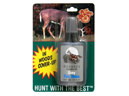 Pete Rickard's Grey Fox Urine Hunting Scent, 2-Ounce