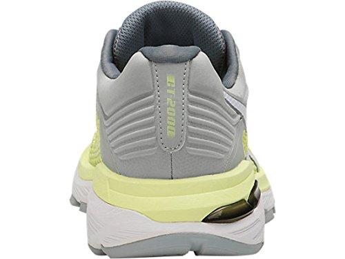 ASICS Women's GT-2000 6 Running Shoe, Limelight/White/Mid Grey, 5 M US by ASICS (Image #4)