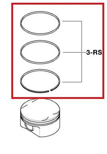 Bmw Piston Ring - 6 X BMW OEM Crankshaft Piston Ring Set (84.00 mm, Standard) E39 E46 E60 E83 E85 525i 325Ci 325i 325xi 525i X3 2.5i Z4 2.5i Z3 2.5i