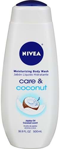 NIVEA Care and Coconut Moisturizing Body Wash 16.9 Fluid Ounce