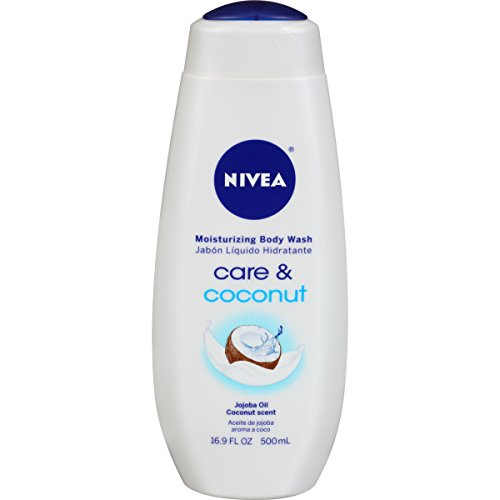 NIVEA Care and Coconut Moisturizing Body Wash 16.9 Fluid Ounce