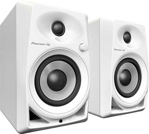 Amazon Com Pioneer 4 Inches Active Monitor Speakers Dm 40 W White