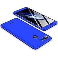 BCIT Funda Xiaomi Redmi 6 360 Grados Integral para Ambas Caras + Cristal Templado, Luxury 3 in 1 PC Hard Skin Carcasa Case Cover