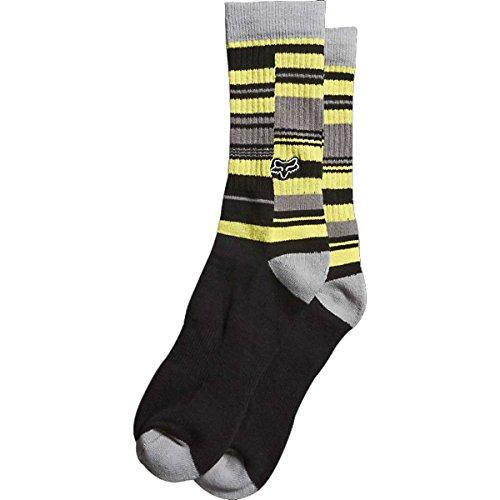 Fox Racing Mens Maunder Socks, Black, Small/Medium