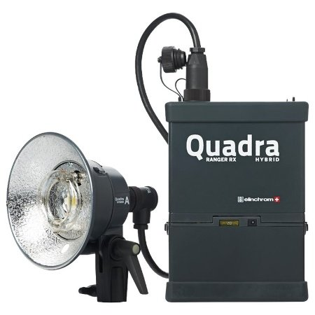 Elinchrom Quadra Living Light Kit with Lead Battery, S Head and Transmitter (EL10430.1) by Elinchrom