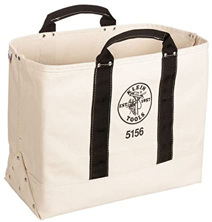 f0d171571ad Canvas Tool Bag, 19-Inch Klein Tools 5156 - - Amazon.com