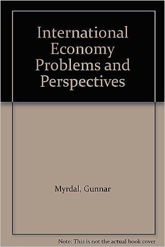 Gratis download af ebook International Economy Problems and Perspectives 0313200785 PDF CHM ePub by Gunnar Myrdal