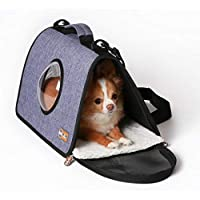 "K&H Pet Products Lookout Pet Carrier - A Pet Carrier with a Bubble Window View Small (17"" x 10.5"" x 9"") 1406"