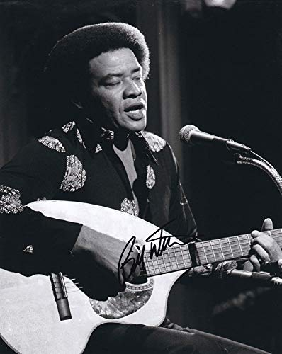 Bill Withers In-person Autographed Photo Rock & Roll Hall of Fame from Sign Here Autographs