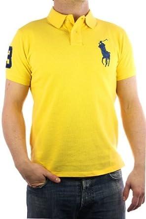 Ralph Lauren Polo by Ralph Lauren Big Pony jaune bleu Homme