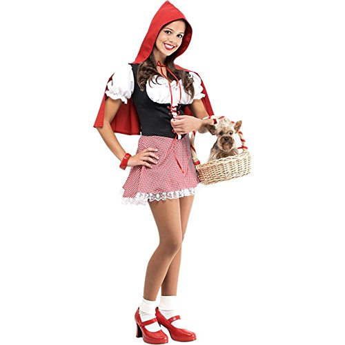 Teen Little Red Riding Hood Costume (Size: Junior Teen 7-9)]()