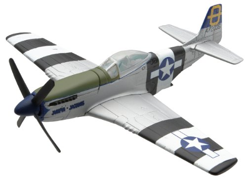 Corgi CC99304 NA Mustang P-51 Flight Diecast Vehicle, 1:72 Scale - Miniature Aircraft Usa